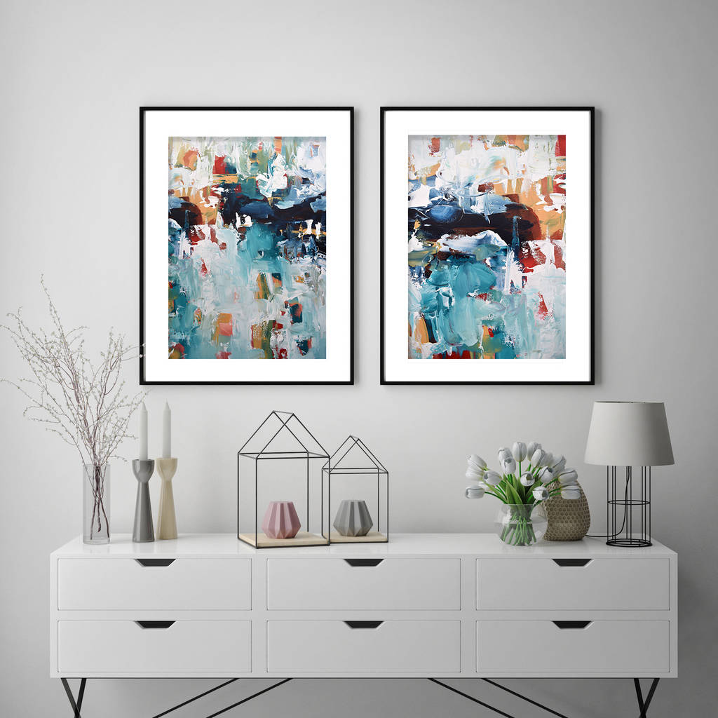 large modern art prints framed prints by abstract house ...