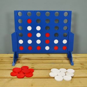 Four In A Row Garden Game / Deluxe - outdoor toys & games