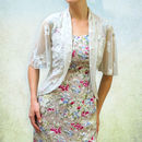 Vintage Style Lace Summer Tea Jacket