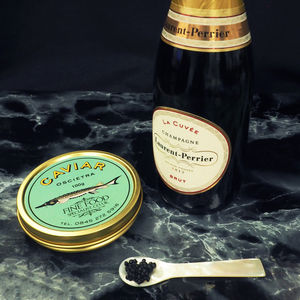Luxury Oscietra Caviar And Champagne Set