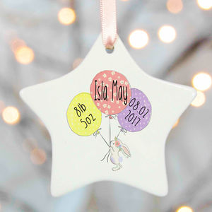 New Baby Girl Gift - hanging decorations