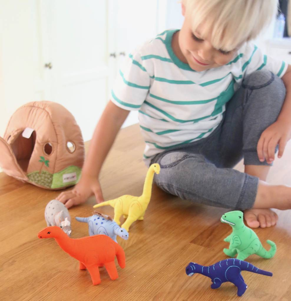 Pretend Play Soft Toy Dinosaurs