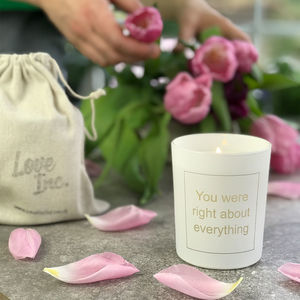 You Were Right About Everything Mothers Day Candle - view all new