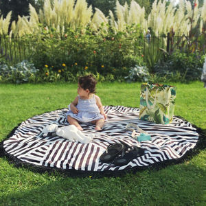 Stripe Playmat - picnic rugs