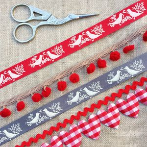 Love Bird, Valentines Ribbon And Trim Collection - interests & hobbies