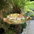 Copper Heart Birdfeeder