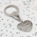 Personalised Congratulations On Your Graduation Keyring