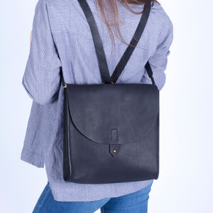 Ethically Made Vegetable Tanned Leather Satchel