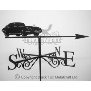 Classic Sports Car Weathervane