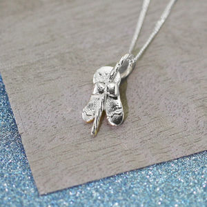 Sterling Silver Gingerbread Man Necklace - necklaces & pendants