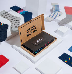 Annual Sock Subscription - gifts for fathers