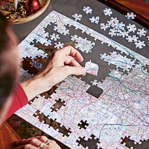 Personalised Our House Map Jigsaw - gifts for her