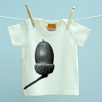 Single Child's Acorn T Shirt