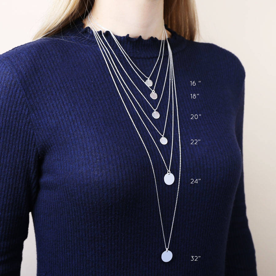 Necklace lengths picture images necklace lengths picture images personalised shiny vertical bar necklace by lisa angel jpg aloadofball Image collections