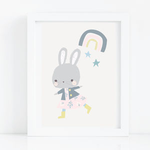 Rainbows And Rabbits - children's room