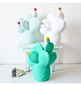 Cactus Lamp In Three Colours - on trend: cactus