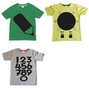 Kids Chalkboard Colour In T Shirt