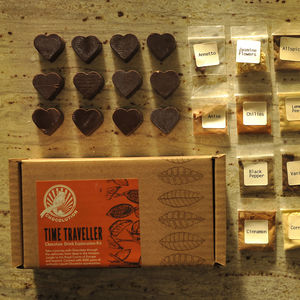 Time Traveller: Chocolate Drink Exploration Kit - luxury chocolates