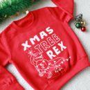 T Rex Kids Christmas Jumper / Sweater