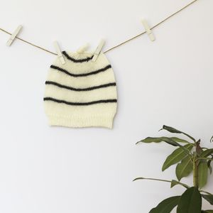 Mono Stripe Hat - children's accessories