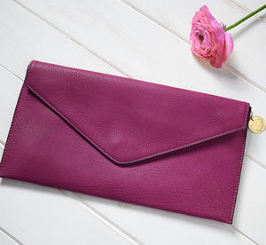 Personalised Clutch Bag - bridesmaid gifts
