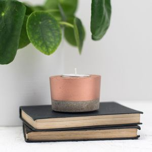 Concrete Tea Light