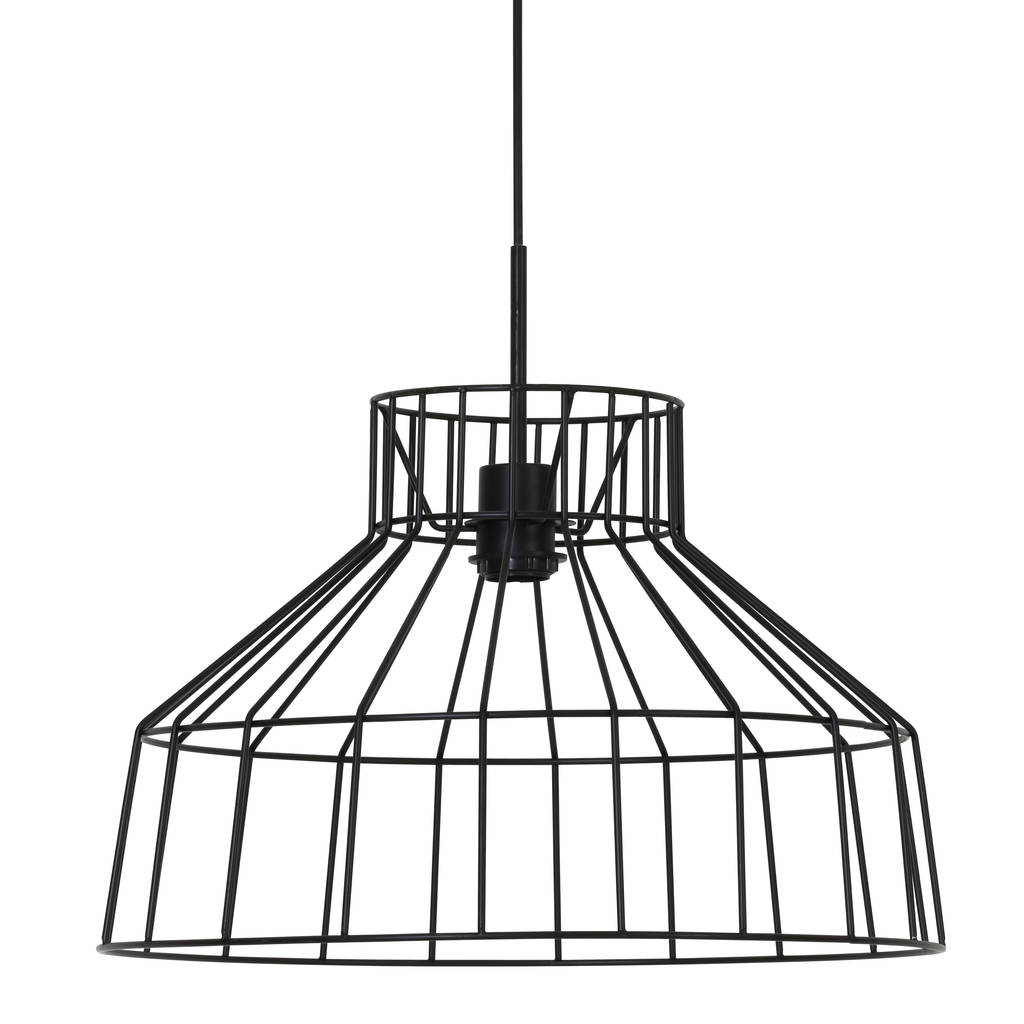 black wire cage hanging lamp by lime tree london ...
