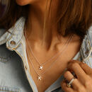 Double Strand Kiss Necklace