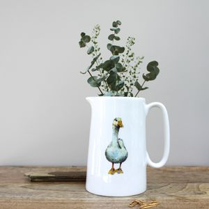 Duck One Pint Fine Bone China Jug - kitchen