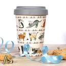Curious Cats Eco Travel Mug