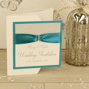 Luxury Sparkle Wedding Invitation