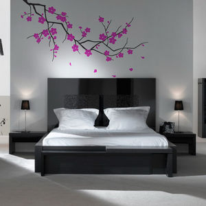 Branch With Blossom Wall Stickers - wall stickers