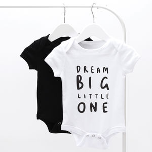 Dream Big Little One Baby Grow - baby & child sale