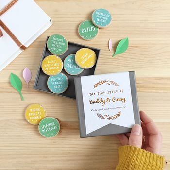Personalised The Tiny Story Of Daddy And Me Tokens