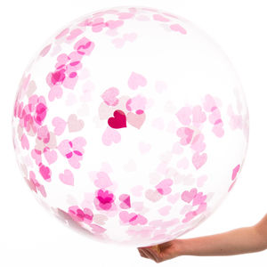 Giant Princess Confetti Filled Balloon - room decorations