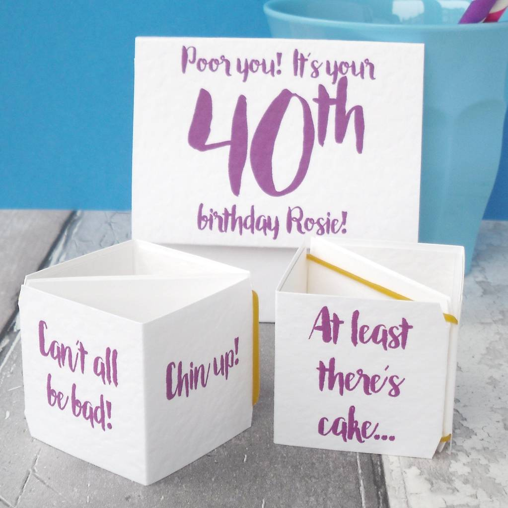 Personalised Pop Up Funny Birthday Card