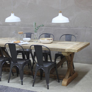 Grand Duke Reclaimed Wood Dining Table - dining room