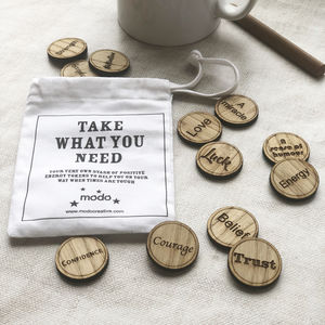 Personalised Take What You Need Tokens - decorative accessories