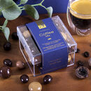 Luxury Handmade Italian Coffee Chocolates. Cube Box