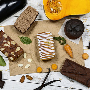 Gluten Free Cake Box - dietary food and drink
