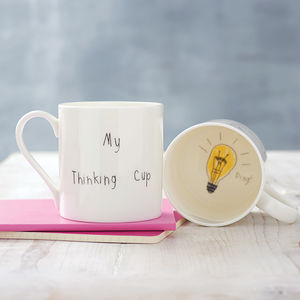 'My Thinking Cup' Mug - shop by category