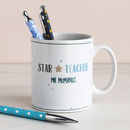 Star Teacher Personalised Mug