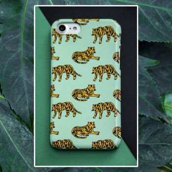 Tiger Print Phone Case, More Colours