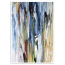 Abstract Art Print, Abstract Wall Art Decor Framed