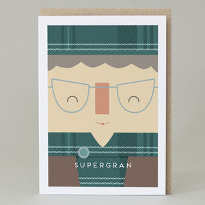 'Supergran' Scottish Card