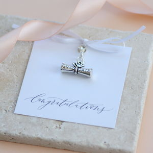 Graduation Keepsake Charm - charm jewellery