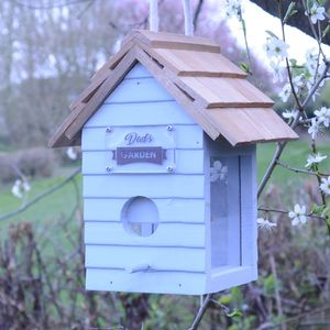 Personalised Bird Seed Feeder - gifts for him