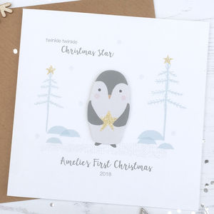 Baby's First Christmas Keepsake Card