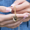 Engraved Zodiac Necklace by Lily Charmed