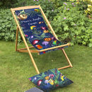 Tropical Garden And Beach Deckchair Gift For Mums